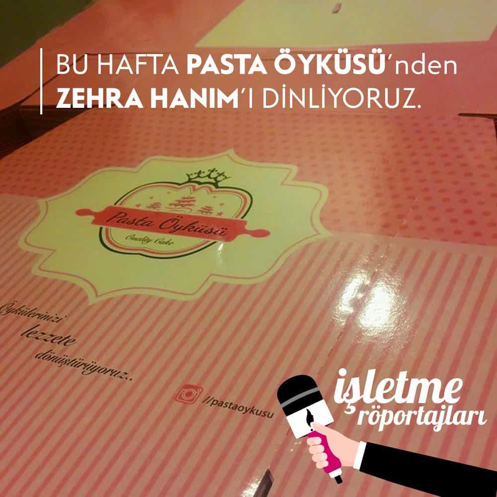 İstanbul Pasta Öyküsü Ropörtajı